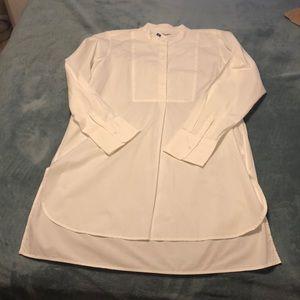 NWT GAP tunic length blouse